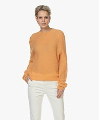 Filippa K Heather Sweater - Pale Orange