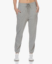 James Perse Fleece Pull On Sweatpants - Heather Grey