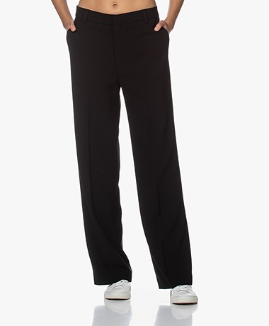 Filippa K Hutton Crepe Pants - Black