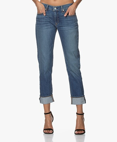Rag & Bone Dre Low-rise Slim Boyfriend Jeans - Bellview