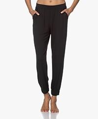Calvin Klein Modal Jersey Lounge Pants - Black