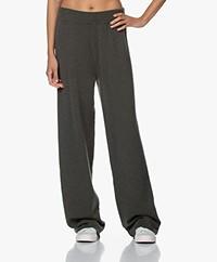 extreme cashmere N°104 Loose-Fit Cashmere Pants - Khaki