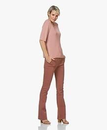 BY-BAR Leila Flared Jeans - Copper