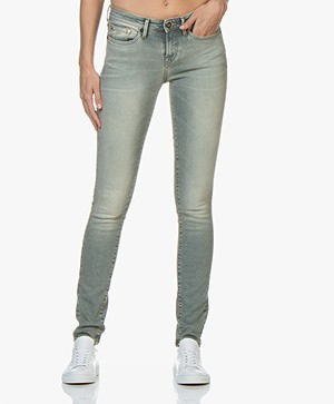 Denham Sharp Skinny Fit Jeans - Vintage Grijs
