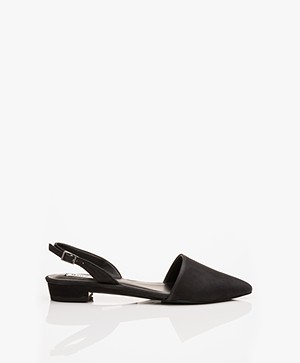 Matt & Nat Cory Sling Back Sandals - Black