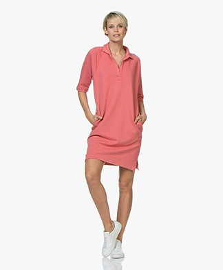 BY-BAR Harper Sweat Dress - Flamingo Pink