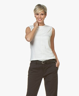 Filippa K Double Face Cocktail Top - Off-white