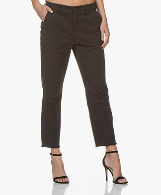 Rag & Bone Buckley Japanese Cotton Chinos - Black