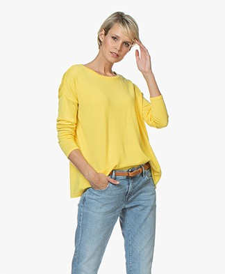 Sibin/Linnebjerg Alice Merino Sweater - Yellow