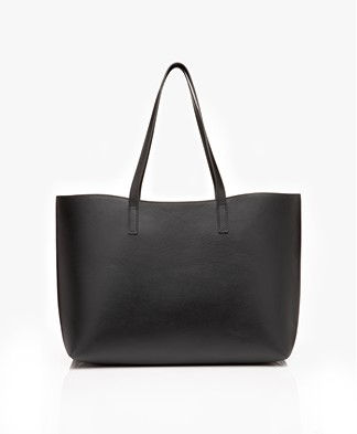 Filippa K  Joan Leather Tote Bag - Black