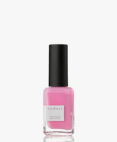 Sundays Opaque Nr. 10 Nail Polish - Bubblegum Pink