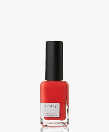 Sundays Opaque Nr. 13 Nagellak - Cherry Orange