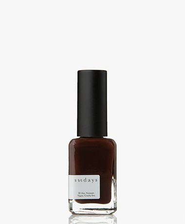 Sundays Opaque Nr. 19 Nail Polish - Aged Wine