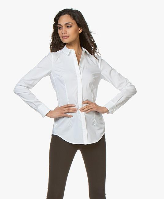 Drykorn Livy Basic Blouse - White