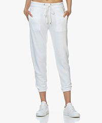 James Perse Fleece Pull On Sweatpants - Wit