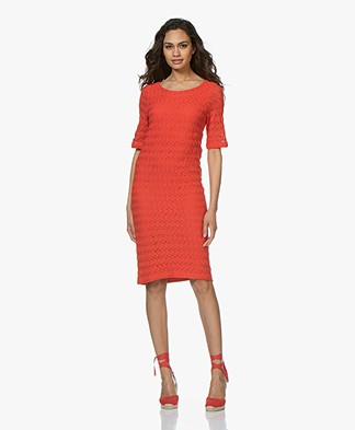 Kyra & Ko Giselle Lace Dress - Red