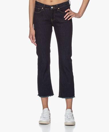 MKT Studio The Sophia Wilson Cropped Jeans - Blue Sydney