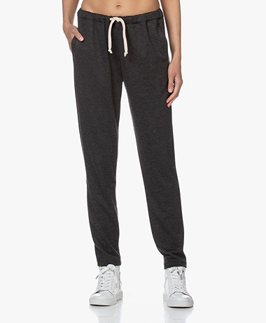 American Vintage Feelgood Sweatpants - Charcoal Melange