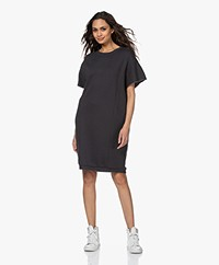 by-bar Micky Oversized Sweaterjurk - Off-black