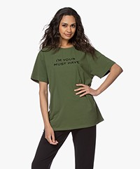 Majestic Filatures Cindy Bruna Musthave T-shirt - New Khaki