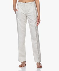 Drykorn Gorgeous Pleated Pants - Off-white