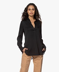 By Malene Birger Mabillon Silk Blouse - Black