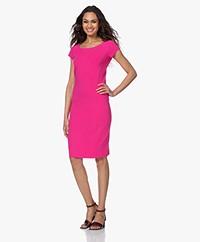 Kyra & Ko Giovanna Crepe Jersey Dress - Pink