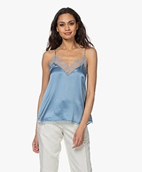 IRO Berwyn Silk Camisole - Summer Blue