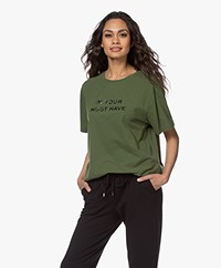 Majestic Filatures Cindy Bruna Musthave T-shirt - New Kaki