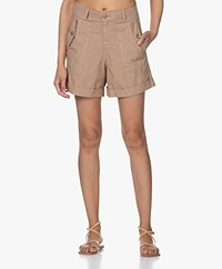 MKT Studio Pachou Cotton Shorts - Beige