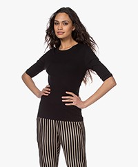 Filippa K Jacqueline T-shirt - Black