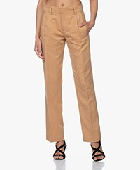 Drykorn Gorgeous Pleated Pants - Camel
