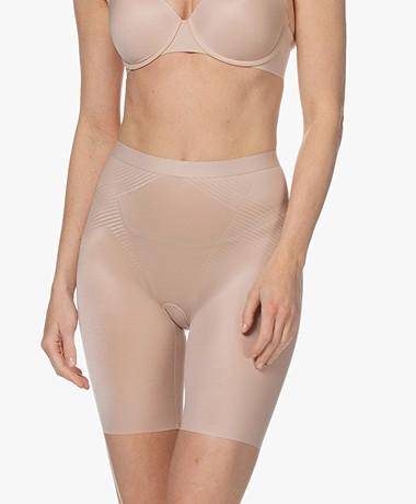 SPANX®  Thinstincts 2.0 Mid-Thigh Shorts - Champagne Beige