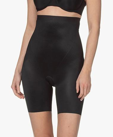 SPANX®  Thinstincts 2.0 Mid-Thigh Shorts - Very Black