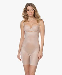SPANX® Thinstincts 2.0 Open-Bust Mid-Thigh Body - Champagne Beige