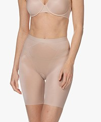 SPANX®  Thinstincts 2.0 Mid-Thigh Shorts - Champagne Beige