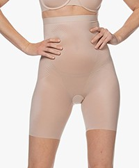 SPANX® Thinstincts 2.0 High-Waisted Mid-Thigh Short - Champagne Beige
