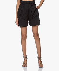 IRO Jastie Tencel Utility Shorts - Black