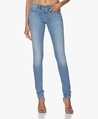 Denham Sharp Free Move Skinny Jeans - Blue