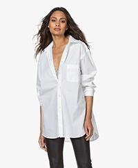 Filippa K Nina Poplin Shirt - White