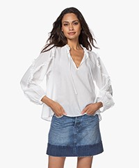 Closed Nell Frill Blouse - Ivory