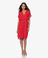 by-bar Victoria Crepe Dress - Salsa