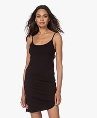 Kyra & Ko Rikkie Jersey Spaghetti Strap Dress - Black