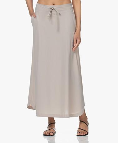 JapanTKY Ruby Travel Jersey A-line Skirt - Sand