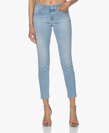 Closed Baker Mid-rise Slim-fit Jeans - Lichtblauw
