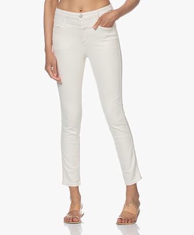 Closed Skinny Pusher Super Stretch Jeans - Crème