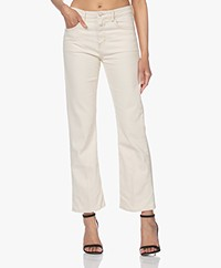 Closed Baylin Cropped Flared Jeans - Crème