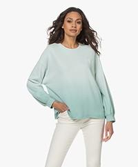 Rails Reeves French Terry Sweatshirt - Aqua Dip Dye