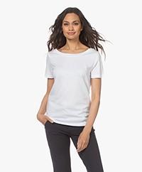 Plein Publique La Chance Modal Blend T-shirt - White
