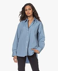 Filippa K Sammy Pure Cotton Shirt - Faded Blue